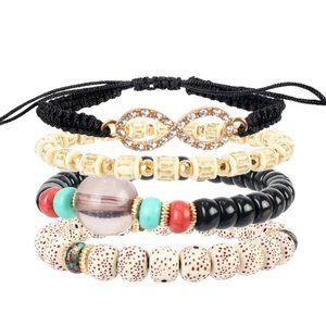 3/$20 New Beaded Bracelet Set